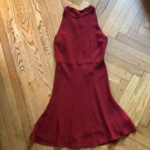 Theory Cosgrove Admiral Crepe Dress (Size 6)